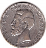 * Moneda 5 lei 1880 - Kullrich sub efigie