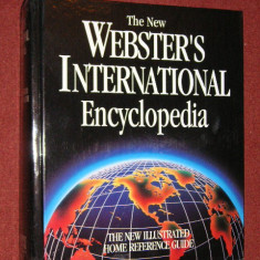 THE NEW WEBSTER'S INTERNATIONAL ENCICLOPEDIA - Dictionar ilustrat