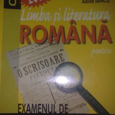 Limba si literatura romana pentru examenul de capacitate