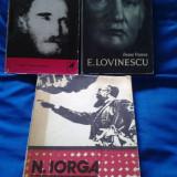 SET 3 CARTI - E. LOVINESCU, GEORGE BACOVIA, N. IORGA -ULTIMELE