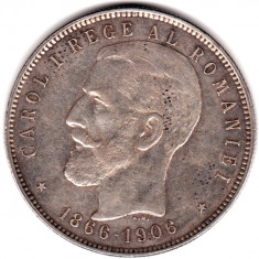 * Moneda 5 lei 1906