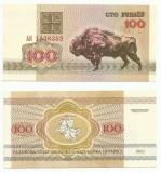 BELARUS  100 Ruble 1992 - UNC  !!!