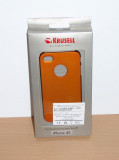 Vand / schimb Husa pt Apple iPhone 4 / 4S Krusell : Color Cover Metallic Orange, iPhone 4/4S