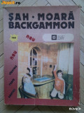 Joc sah, moara si table / backgammon - VINTAGE