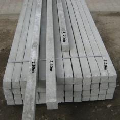 Stalpi de beton(spalieri) pentru gard sau vie de la 1, 70m la 3, 40m - Otel beton
