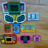 Jocuri electronice tip game watch + Nintendo mini gameboy Soccer , football etc