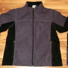 REDUCERE Bluza OUT LIVING OUTDOOR polar LAMINAT mov-negru hanorac pentru fete femei dama - Hanorac dama, Marime: L, Poliester
