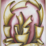 Tablou ulei, Nonfigurativ, Abstract