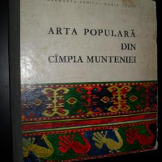 Arta populara din Campia Munteniei - Carte Arta populara