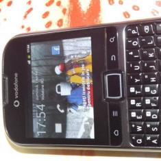 Vodafone Smart Chat - Telefon mobil Vodafone, Gri, Single core, Smartphone, Touchscreen+Taste