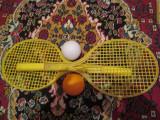 Rachete tenis de jucarie - vechi romanesti