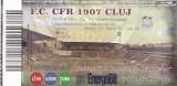 Bilet meci fotbal   FC CFR 1907 CLUJ - FC DINAMO BUCURESTI 06.04.2013   neindoite