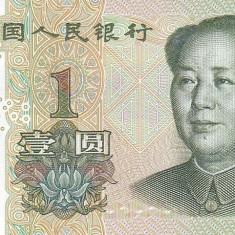 Bancnota China 1 Yuan 1999 - P895 UNC - bancnota asia