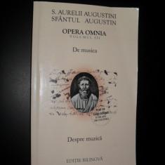 Opera Omnia, Sfantul Augustin, Aurelii augustini, De musica, volumul III - Filosofie