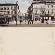Targu Mures- animata - Carte Postala Transilvania 1904-1918, Necirculata, Printata