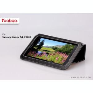 Husa Executive Case Piele Naturala Samsung Galaxy Tab2 P6200 by Yoobao Originala Black