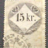 AUSTRIA VECHE - 15 kr