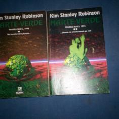 KIM  STANLEY  ROBINSON , Marte Rosu , Marte verde , Marte Albastru , 5 volume