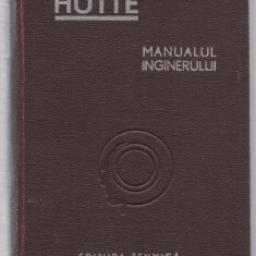 9A(430) Remus Radulet-MANUALUL INGINERULUI vol I - Carti Mecanica