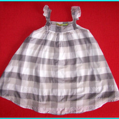 Rochie / rochita de vara, bumbac, MC BABY GIRLS _ fetite | 5 - 6 ani | 116 cm, Marime: Alta, Culoare: Gri