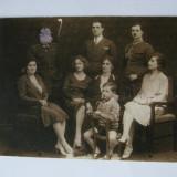 REDUCERE 10 LEI! FOTOGRAFIE CU OFITERI DIN ANII 20 - Fotografie veche
