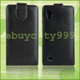 LG OPTIMUS L9 P760 HUSA DE PIELE NOUA ! - Husa Telefon
