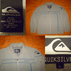 GEACA QUIKSILVER - model SURFCOM - made in vietnam - Geaca barbati Quiksilver, Marime: L, Culoare: Gri