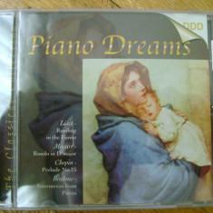 Album CD compilatie Piano Dreams muzica clasica opera pian Mozart Chopin Brahms Liszt The Classical Collection 13 melodii
