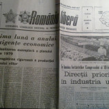 Ziarul romania libera 1 decembrie 1979 (61 de ani de la unire )