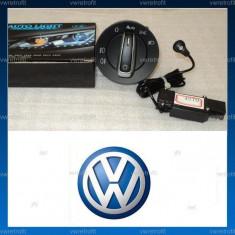 Bloc lumini crom + senzor lumina pt. VW Passat B6, CC, B7, Golf 5, Golf 6, Jetta, Volkswagen