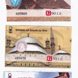 Pentru colectionari, 3 bilete intrare Cairo Piramide si Luxor