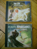 Set colectie lot 2 Album CD muzica de relaxare meditatie focus Tai Chi Echoes of the Underworld si Echoes Mantra ambient relaxation total 20 melodii