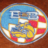Broderie/emblema/patch/toppa ULTRAS/HOOLIGANS Bad Blue Boys Dinamo Zagreb