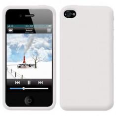 Husa ALBA Silicon Gel iPhone 4 / 4S + Folie Protectie Display fata + spate GRATIS