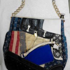 Vand geanta dama Louis Vuitton Paris (made in France), Geanta de umar, Multicolor