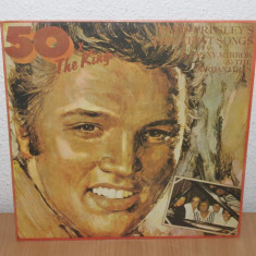 50 x The King - Elvis Presley - Muzica Rock & Roll electrecord, VINIL