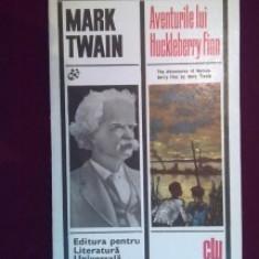 MARK TWAIN -AVENTURILE LUI HUCKLEBERRY FINN