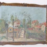 Peisaj din Montmartre 1920 Guillaume Lebovitz, GUYLBO origine romana - Pictor roman, Peisaje