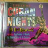 Album CD Club Latino Cuban Nights 16 Hot Rhythms Cuba muzica cubaneza ritmuri cubaneze latine hispanice rumba salsa compilatie 16 melodii