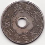 Imperiul Japoniei Mari - 10 Sen 1923 - Taisho