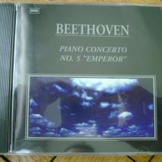 Album CD Ludwig von Beethoven - Piano Concerto No. 5 Emperor concert de pian 41 minute muzica clasica opera classic music