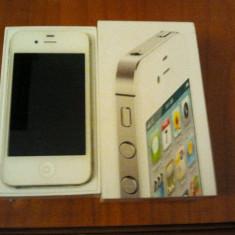 VAND iPhone 4s Apple / WHITE, NEVERLOCHED, Alb, 16GB, Neblocat