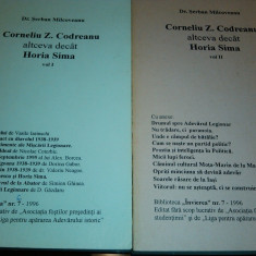 C Z CODREANU ALTCEVA DECAT HORIA SIMA SERBAN MILCOVEANU VOL1 MISCAREA LEGIONARA - Istorie