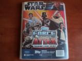 album Star Wars Force Attacks cu peste 350 bucati de carti de joc