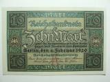 GERMANIA - 10 MARCI - FEBRUARIE 1920