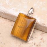 PANDANT ARGINT 925 SI OCHI DE TIGRU - Pandantiv argint