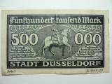 GERMANIA - DUSSELDORF - 500000 MARCI 15 IULIE 1923