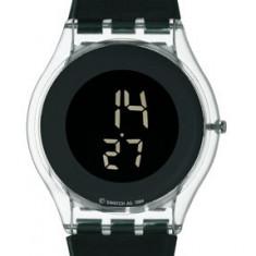 Vand ceas nou dama Swatch Skin SIK117 - Ceas dama Swatch, Casual, Quartz, Piele, Electronic, Diametru carcasa: 34
