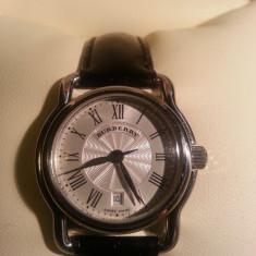 Ceas de lux dama BURBERRY BU1218 quartz + data Pret magazin = 483 USD !!! ORIGINAL - Ceas dama Burberry, Casual, Piele, Analog