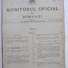 MONITORUL OFICIAL AL ROMANIEI / Anul VII - Nr. 303 Sambata, 30 decembrie 1995 - Carte Legislatie